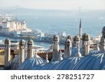 view of suleymaniye mosque on... | Shutterstock . vector #278251727