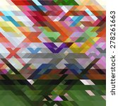 multicolor abstract background | Shutterstock .eps vector #278261663