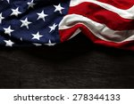 Stock photo american flag for memorial day or th of july 278344133