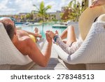 couple enjoying vacation in... | Shutterstock . vector #278348513