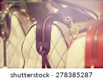 background of fashion handbags.... | Shutterstock . vector #278385287