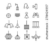 lamp vector wall lamp... | Shutterstock .eps vector #278424557