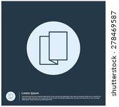 tri fold icon  vector...