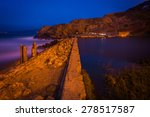 The Sutro Baths At Night  In...