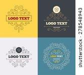 vintage flourishes calligraphic.... | Shutterstock .eps vector #278548943