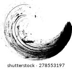 grunge wave logo element.... | Shutterstock .eps vector #278553197