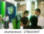generic trade show image with...