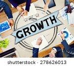 business growth planning...   Shutterstock . vector #278626013