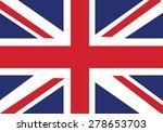 original flag of united kingdom  | Shutterstock .eps vector #278653703