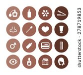 beauty salon icons universal... | Shutterstock .eps vector #278719853