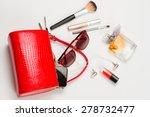 fashionable women's handbag....   Shutterstock . vector #278732477