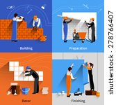 Worker Design Concept Set With...