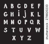 alphabet | Shutterstock .eps vector #278820233
