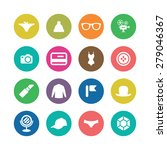 accessories icons universal set ... | Shutterstock . vector #279046367