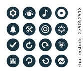 audio icons universal set for... | Shutterstock . vector #279052913
