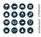 accessories icons universal set ... | Shutterstock . vector #279054347