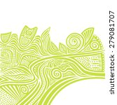 floral nature pattern design... | Shutterstock .eps vector #279081707