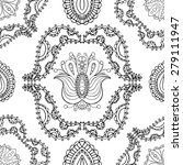 seamless abstract tribal... | Shutterstock .eps vector #279111947
