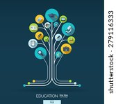 abstract education background... | Shutterstock .eps vector #279116333