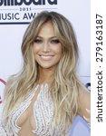 las vegas   may 17   jennifer... | Shutterstock . vector #279163187
