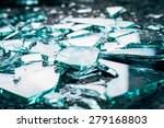 Shattered And Splitted Glass...