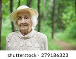 Portrait Of A Lovely Old Woman...