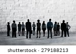 corporate business team... | Shutterstock . vector #279188213