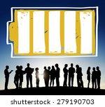 battery recharge energy power... | Shutterstock . vector #279190703