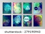 set of poster  flyer  brochure... | Shutterstock .eps vector #279190943