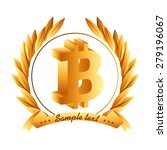 Bit Coin Design  Vector...