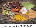 Wooden Spoon With Assortment O...