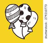 doodle balloon | Shutterstock . vector #279210773