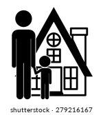 family design over white... | Shutterstock .eps vector #279216167