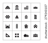 architecture icons universal... | Shutterstock . vector #279243107
