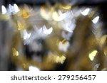 Glittering Butterfly On Bokeh...