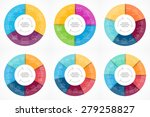 vector circle infographic.... | Shutterstock .eps vector #279258827