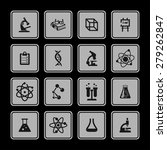 science icons | Shutterstock .eps vector #279262847