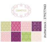 vector set of floral border and ... | Shutterstock .eps vector #279277463
