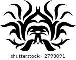calligraphical figures created... | Shutterstock .eps vector #2793091