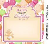 children's congratulatory... | Shutterstock .eps vector #279312167
