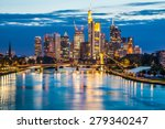 beautiful view of frankfurt am... | Shutterstock . vector #279340247