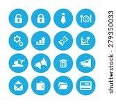 b2b icons universal set for web ... | Shutterstock . vector #279350033