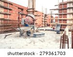 cement mixer machine at... | Shutterstock . vector #279361703