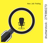 new job finding concept. search ... | Shutterstock .eps vector #279380273