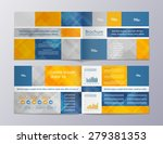 brochure template design with... | Shutterstock .eps vector #279381353