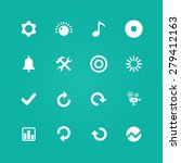 audio icons universal set for... | Shutterstock . vector #279412163