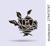 rose vector icon | Shutterstock .eps vector #279475787