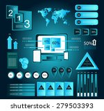 it infographic elements... | Shutterstock .eps vector #279503393