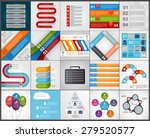 set colorful infographics... | Shutterstock .eps vector #279520577