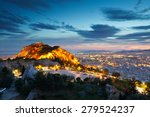 View Of Athens From Lycabettus...